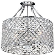 flush mount crystal chandelier 4 light crystal semi flush mount chrome semi flush mount french empire