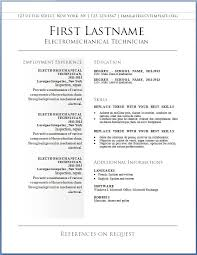 Resume Examples Templates Free Resume Template For Word Inspiration