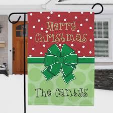 christmas garden flags. Delighful Garden Personalized Merry Christmas Garden Flag  Flags With A