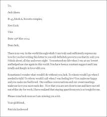 Sample Love Letters For Him Wife Example To Husband In