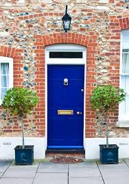 front door curb appeal4 Ways to Improve Your Curb Appeal for Pennies on the Dollar