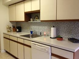 Vinyl Kitchen Backsplash Vinyl Wallpaper Kitchen Backsplash Great Home Decor Smart