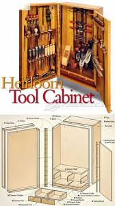 Wall Tool Cabinet Plans - Workshop Solutions Plans, Tips and Tricks |  WoodArchivist.com