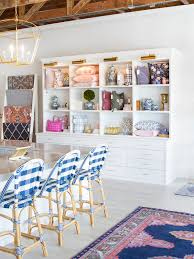 the is a colorful mix of patterns from cafe stools woven just for wilson to her pastel persian rugs photo courtesy of caitlin wilson