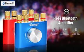 Facmogu F900 Mini Bluetooth <b>Power Amplifier Wireless Audio</b>