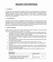 Bid Proposal Templates Simple Request For Bid Template Unique Tender Proposal Template Interior
