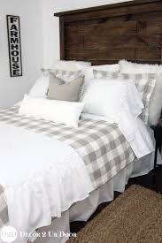 breakthrough farmhouse bedding sets a soft mix of neutral fabrics make up this modern