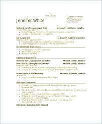 New Grad Nursing Resume Template Interesting New Grad Nursing Resume Template Resume Example