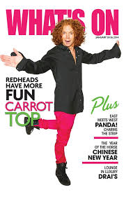 Carrot Top Las Vegas Tickets Show Times At The Luxor
