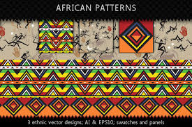 Textile Patterns Classy Ethnic Africa Textile Patterns Graphic Patterns Creative Market