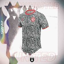 Manchester united and adidas revealed the new 20/21 third kit, introducing a visually distinctive design, inspired by striped jerseys from the club's history. Crazy Dazzle Camo Manchester United 20 21 Third Kit Concept Revealed Footy Headlines Camo Designs Manchester United Manchester