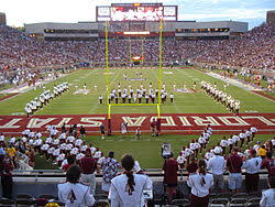 Doak Stadium Seating Chart Doak Campbell Stadium Wikipedia