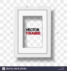white certificate frame vertical a4 white certificate frame with passepartout on transparent