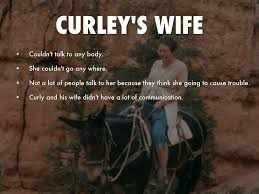 of mice and men by branden smith curley s wife