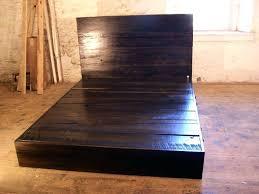reclaimed wood king platform bed. Wooden Platform Bed Reclaimed Wood Home Improvement Solid Frame King