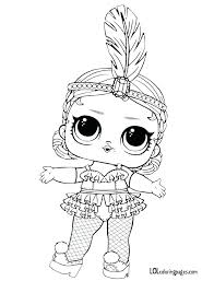Lol Dolls Coloring Pages Punk Boy Series 3 Surprise Doll Coloring