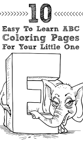 Small Picture The 25 best Abc coloring pages ideas on Pinterest Alphabet