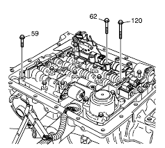 Control valve body and wiring harness removal automatic transmission unit control valve body
