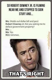FunnyMemes.com • Funny memes - [Robert Downey Jr. filming near me] via Relatably.com