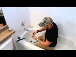 how to replace a bathtub drain