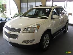2010 Summit White Chevrolet Traverse LTZ #31332271 | GTCarLot.com ...
