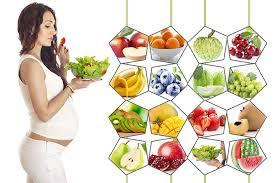 نتیجه تصویری برای pregnancy food