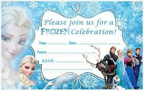 Frozen Birthday Invitations 24 Frozen Birthday Invitation Templates Psd Ai Vector