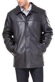 bgsd men s samuel new zealand lambskin leather car coat com