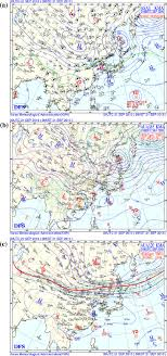 Surface A 850 Hpa B And 200 Hpa C Synoptic Weather