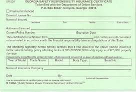 Sr22 Insurance Quotes 52 Amazing Auto Insurance Forms Sr24 Claim Form Sr 24 Col Nayvii