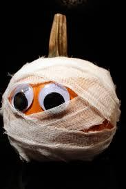 The Mummy Pumpkin!! . .