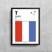The international phonetic alphabet (ipa) is an academic standard created by the international phonetic association. Signal Flag T Tango T Phonetic Alphabet Morse Code Etsy