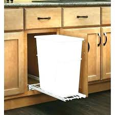Trash Can Cabinet Size Sliding Holder Under Insert Drawer Garbage Pullout F   R38