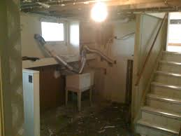 Unfinished Basement Stairs - Unfinished basement stairs