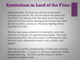 symbolism in literature ppt video online  6 symbolism in lord of the flies