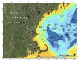 Wgom Bathymetry And Backscatter The Center For Coastal And