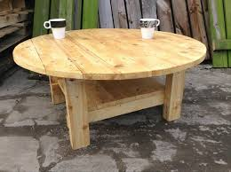 ... Simple pallet round table