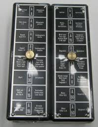 ferrari lamborghini parts supplier maserati alfa romeo fiat fuse box set of 2 8 fuses ferrari 330 fr330fbs 947 50 set fuse box set of 2 9 fuses ferrari 365 fr365fbs 947 50 set