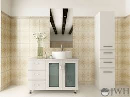 Single vessel sink bathroom vanities Lowes 39 Jwh Living Jwh Living Furniture By Category All Vanities 39quot Lune