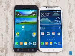 Samsung Galaxy S4 Comparison Chart Samsung Galaxy S5 Vs Samsung Galaxy S4 Phonearena