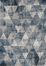 kalora breeze geometric rug 5 x 8 blue