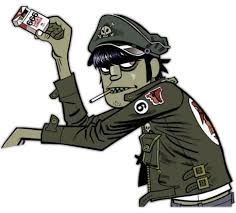 Image result for murdoc white background
