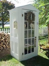 diy four door shed