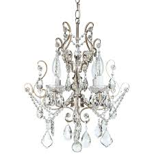 house of hampton lighting home depot 4 light glass crystal chandelier reviews intended for incredible decor