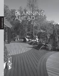 Trex Span Chart Planning Ahead Trex