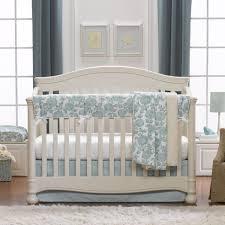 aqua blossoms fl crib bedding set turquoise fl crib bedding set teal fl baby