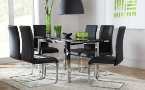 high gloss dining table with 6 perth white dining table perth e black gl and chrome extending dining table