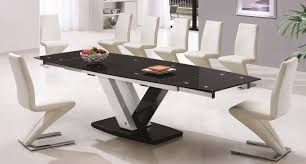 modern dining room table and chairs. square dining table seats 8 10 crowdsmachinecom modern room and chairs