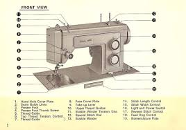 Instructions For Kenmore Sewing Machine