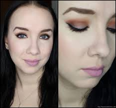 zoeva cocoa blend makeup look 1